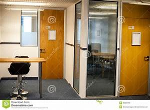 Modern Office Interiors And Cabins Stock Image - Image ...