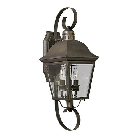 progress outdoor wall light with clear glass in bronze finish p5688 20 destination