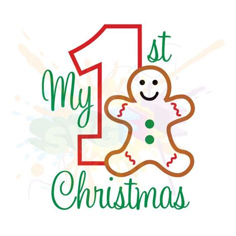 Scrapbook.com has been visited by 10k+ users in the past month My First Christmas SVG Files for Cutting DXF Cricut Designs