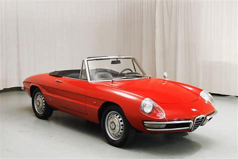 1967 Alfa Romeo by 1967 Alfa Romeo Duetto Spyder Hyman Ltd Classic Cars