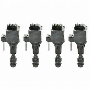 Ignition Coils Kit Set Of 4 New For Buick Chevy Pontiac
