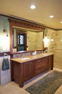craftsman style bathroom ideas vanity craftsman bathroom york by carisa mahnken design guild