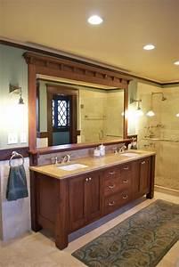 Vanity - Craftsman - Bathroom - new york - by Carisa