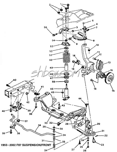 2000 blazer front suspension diagram autos post