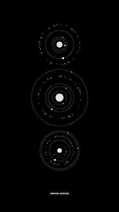 Sci Fi Interface Space Moon Geometric Place