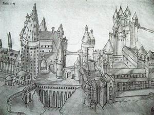 Hogwarts Castle by talita-rj on DeviantArt