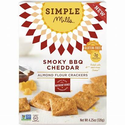 Smoky Almond Crackers Bbq