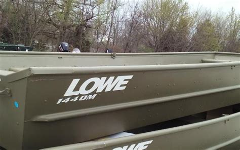 Lowe Boats Prices by Lowe L1440m Boats For Sale Boats