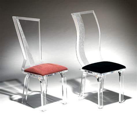 chaises originales les chaises transparentes et l 39 intérieur contemporain