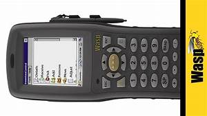 WDT3200 Mobile Computer With Barcode Scanner Wasp