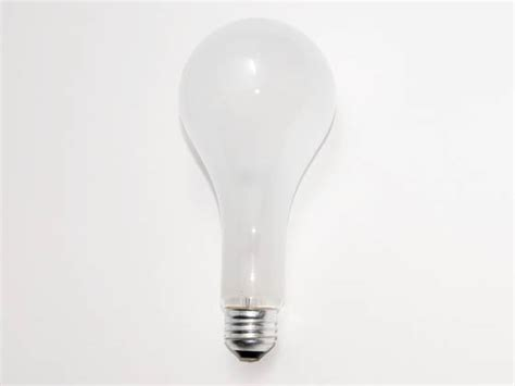 philips 300w 120v to 130v ps25 frosted bulb e26 base