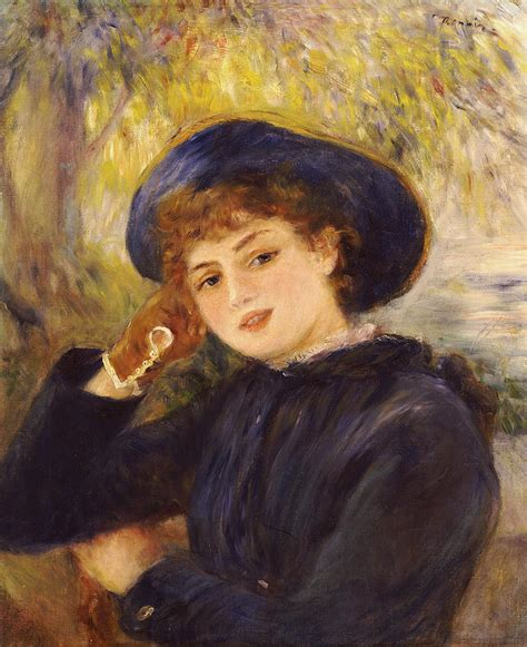 Portrait Of Mademoiselle Demarsy Painting By Pierre