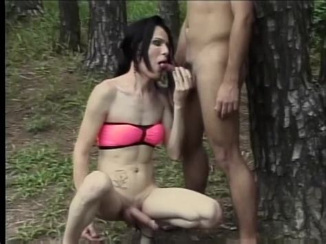 Hot Spanish Shemale Gets Her Big Cock Sucked Then Fucks