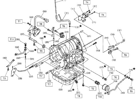 Subaru Transmission Parts circuit diagram