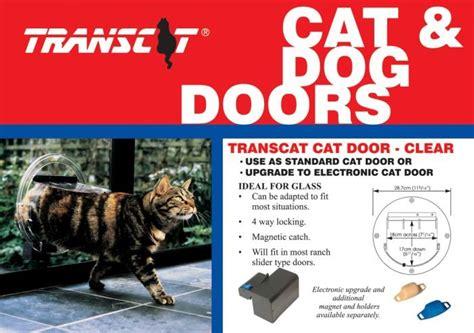 pet shop direct transcat cat door clear