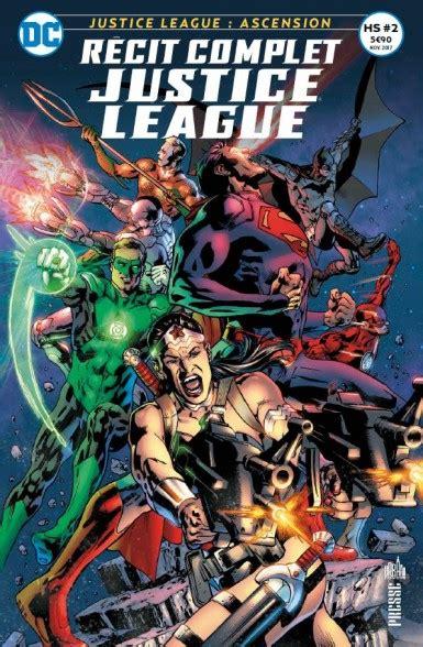recit complet justice league  green lanterns urban