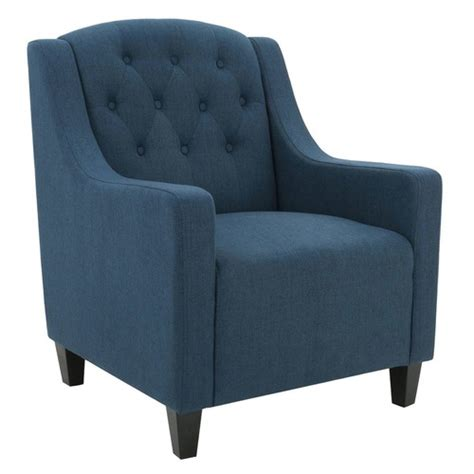 Blue Armchair by Blue Canberra Fabric Armchair Temple Webster