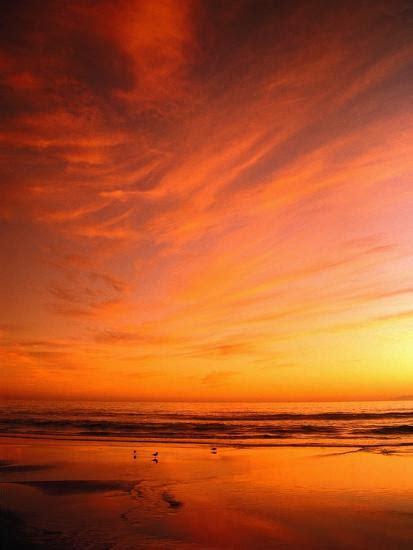 Southern California Sunset Beach Photographic Print