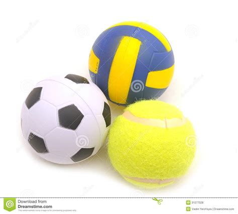 Balls Images White Background by Sports Balls Royalty Free Stock Photos Image 31077028