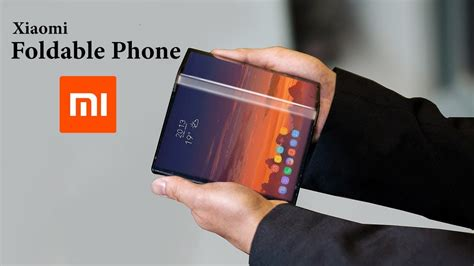 xiaomi new foldable phone with new folding method