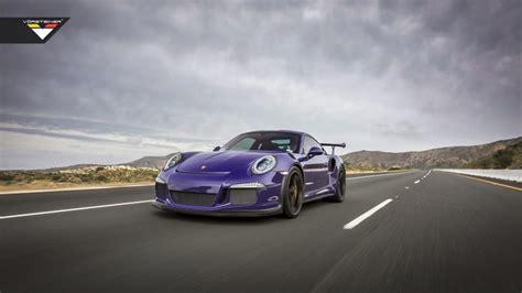 Porsche Gt3 Rs By Vorsteiner