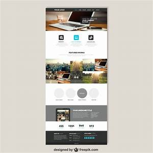 website vectors photos and psd files free download With wesite templates