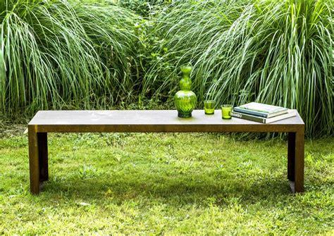 il giardino di corten arredi in corten per un giardino dal design contemporaneo