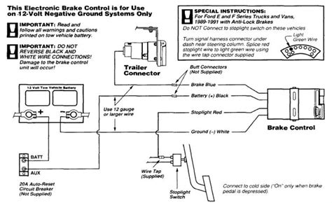 Axle Trailer Brake Wiring Diagram Sample