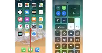 swipe up on iphone center in ios 11 the ultimate guide imore