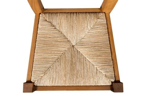 changer assise de chaise en paille de conception de maison