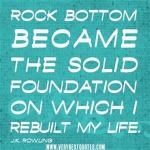 My Life Rocks Q... Rock Foundation Quotes
