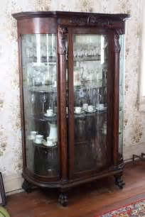 Antique Victorian China Cabinet
