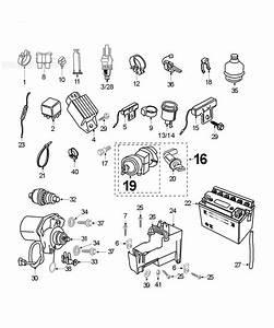 Peugeot Speedfight 2 100 E Electric Equipment