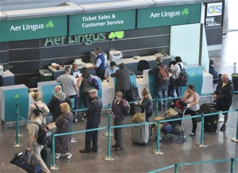 aer lingus help desk aer lingus to let passengers check in bags evening before