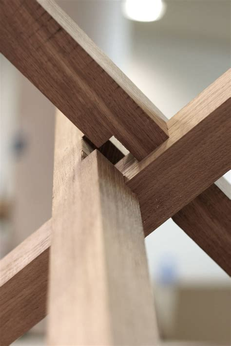 wood joints 3 way joint woodworking technique pinterest