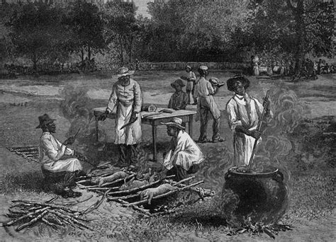 the history of cuisine barbecue in the united states