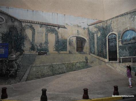 narbonne 11 peinture murale en trompe l oeil les bons restaurants