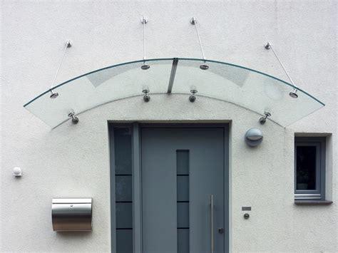 Glas Für Türen by Vord 228 Cher Aus Glas Glasvordach Glasprofi24