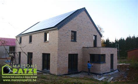 maison ossature bois passive construction d une maison passive 224 ossature bois 224 dinant