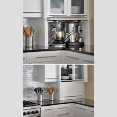 Kitchen Design Idea  Store Your Kitchen Appliances In An