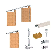 Apollo Folding Door Gear DIY Track Kit