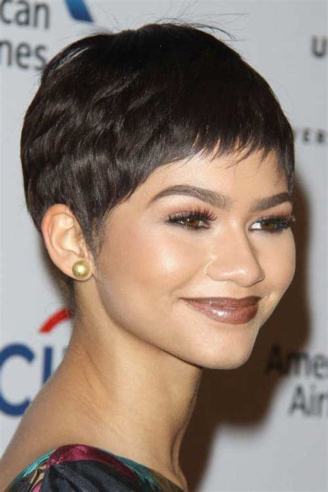 popular celebs  pixie cuts short hairstyles