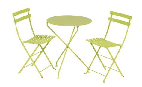 location table berlingot vert anis et mobilier de jardin