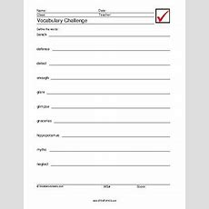 Eighth Grade Vocabulary Worksheets, Full Year, 796 Pages By Stemtopics