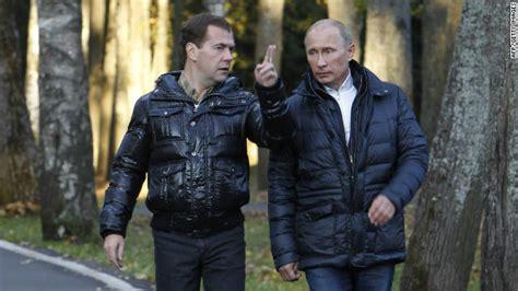 Putin Medvedev Trading Places Cnn