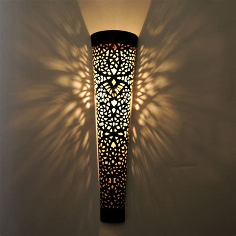 xl wall l moroccan wall light iron tola h70cm ebay