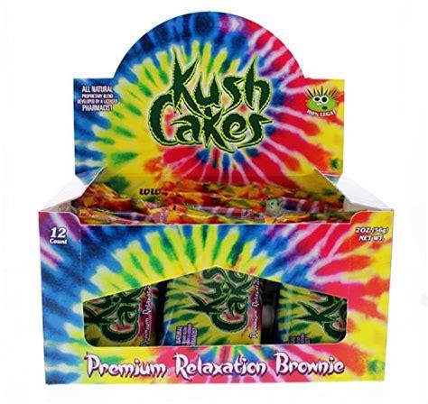 kush cakes  premium relaxation brownie   cannabis