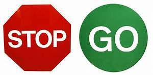 Stop, U0026, Go, Signs