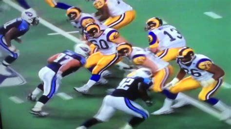 Super Bowl Xxxiv St Louis Rams Vs Tennessee Titans