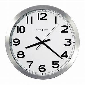 Buy Spokane Brushed Silvertone Wall Clock Online